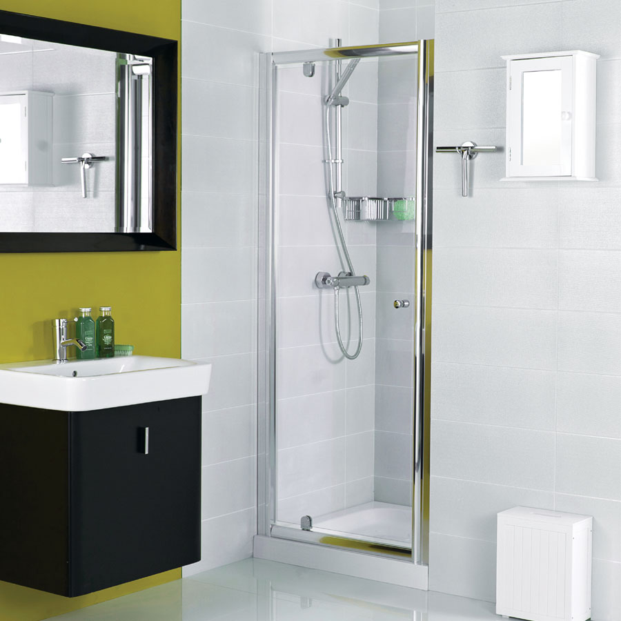 Roman Haven Pivot Shower Door Large Image