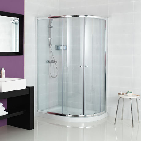 Roman Haven Two Door Offset Quadrant Shower Enclosure
