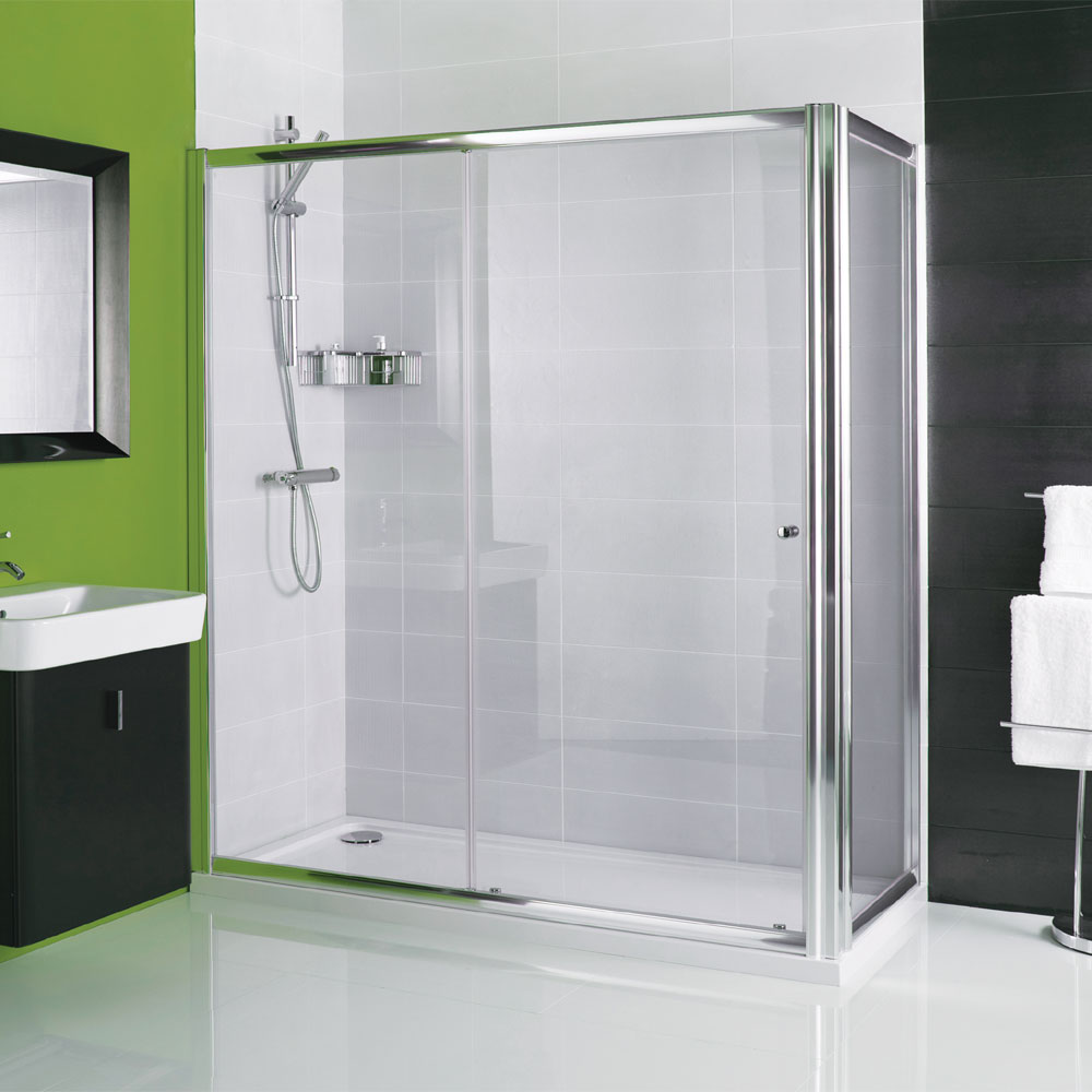 Roman Haven Sliding Shower Door Now Available From