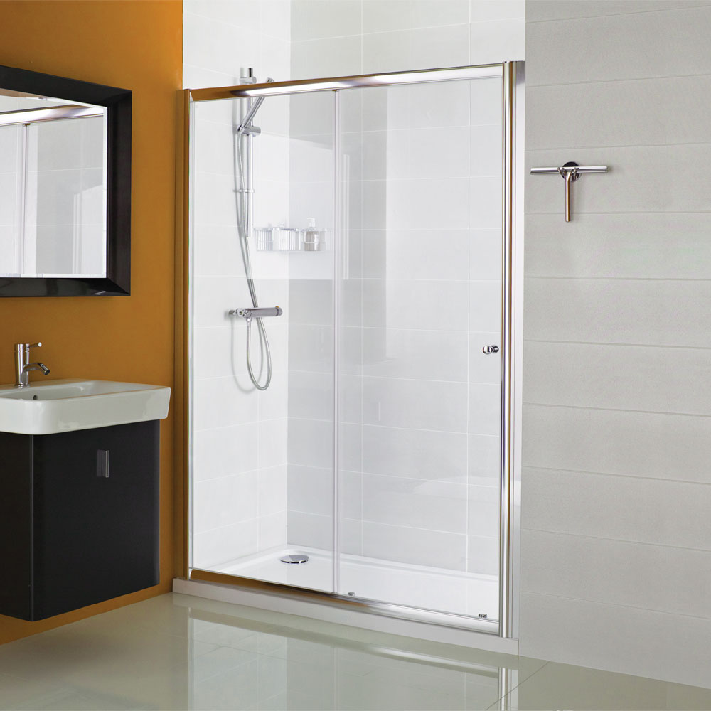 Roman haven sliding shower door now available from for 1300 mm sliding shower door
