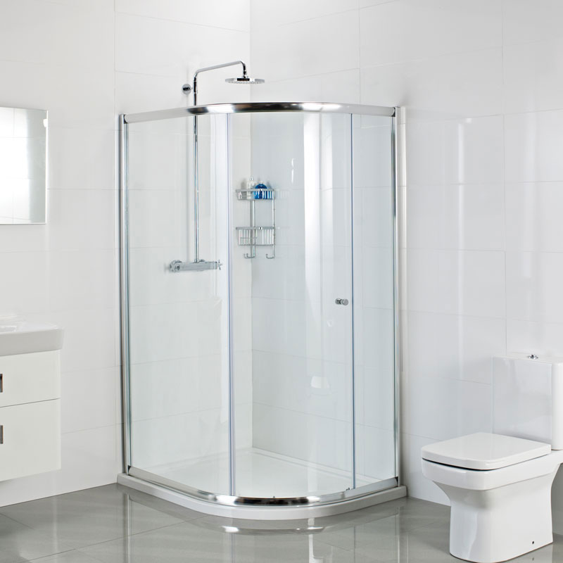 Roman Haven One Door Offset Quadrant Shower Enclosure Large Image