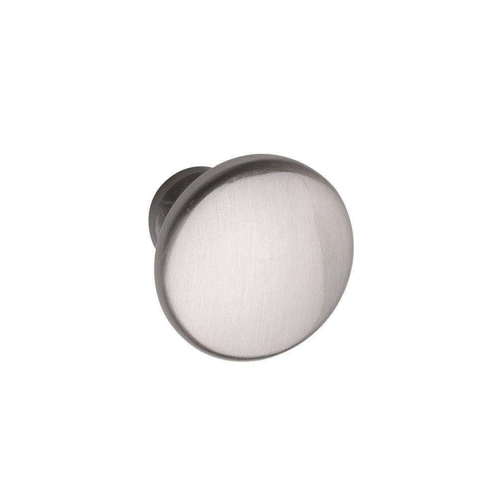 Hudson Reed Knob Satin Nickel Furniture Handle (28 x 22mm) - H394