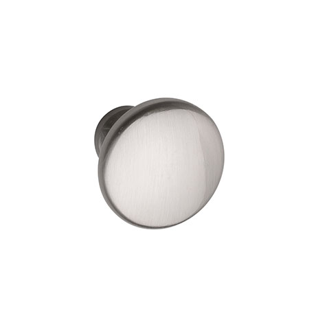 Hudson Reed Knob Satin Nickel Furniture Handle (28 x 22mm) - H394