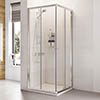 Roman Haven 1900mm Corner Entry Shower Enclosure profile small image view 1