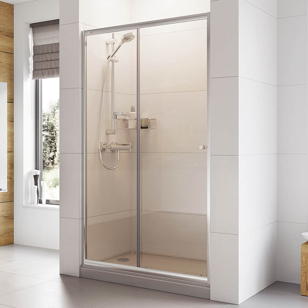 Roman Haven 1900mm Sliding Shower Door Victorian Plumbing Uk