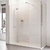 Roman Haven 8mm Corner Wetroom Panel profile small image view 1