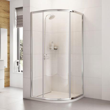 Roman Haven 900 x 900 x 1900mm One Door Quadrant Shower Enclosure - H3SQ9CS