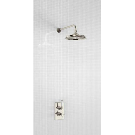 Arcade trent concealed thermostatic valve with straight for Chatsworth bathroom faucet parts