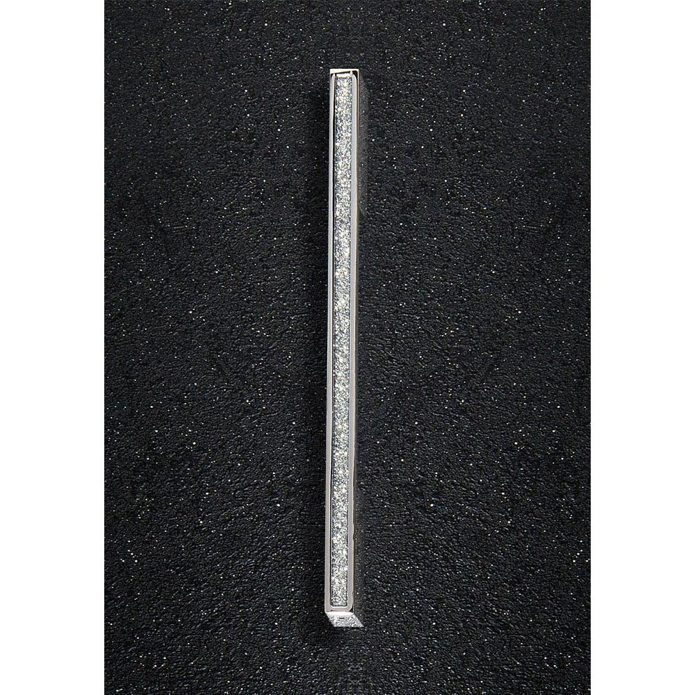 Hudson Reed Sparkle Chrome Furniture Handle (200 x 25mm) - H824 Large Image