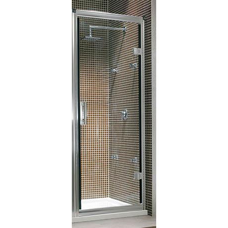Twyford Hydr8 Hinged Shower Door - 760mm