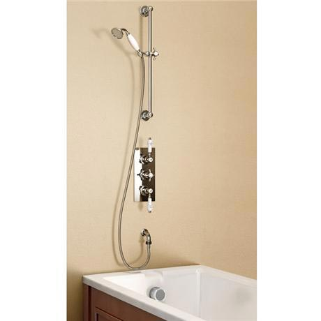 Burlington clyde anglesey concealed valve pack w brass for Chatsworth bathroom faucet parts