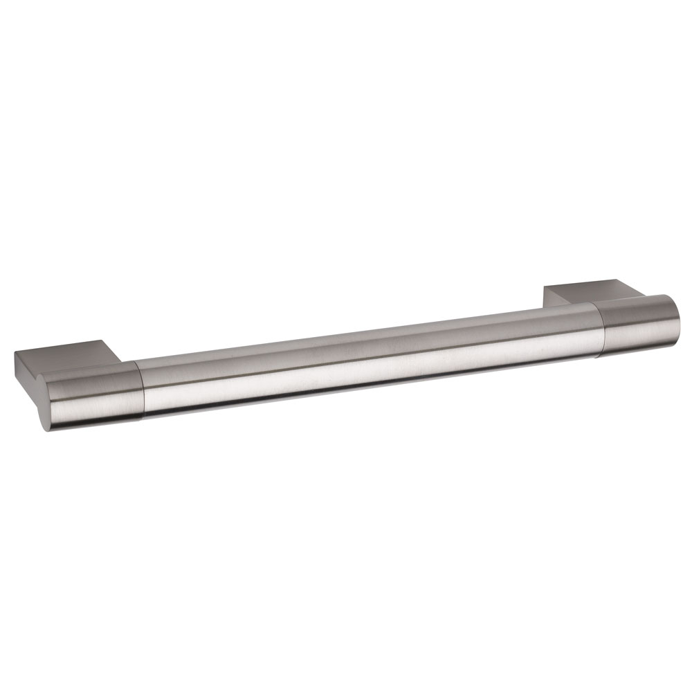 Hudson Reed Bar 16mm Thick Stainless Steel Furniture Handle (185 x 38mm) - H917
