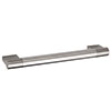 Hudson Reed Bar 16mm Thick Stainless Steel Furniture Handle (185 x 38mm) - H917 Medium Image