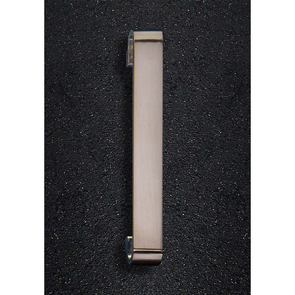 Hudson Reed Double G Brushed Nickel Furniture Handle (202 x 32mm) - H919 Large Image