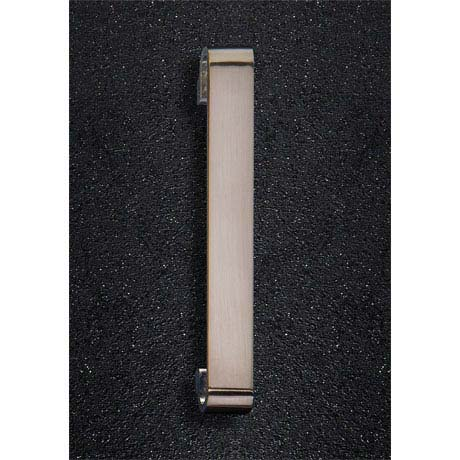 Hudson Reed Double G Brushed Nickel Furniture Handle (202 x 32mm) - H919