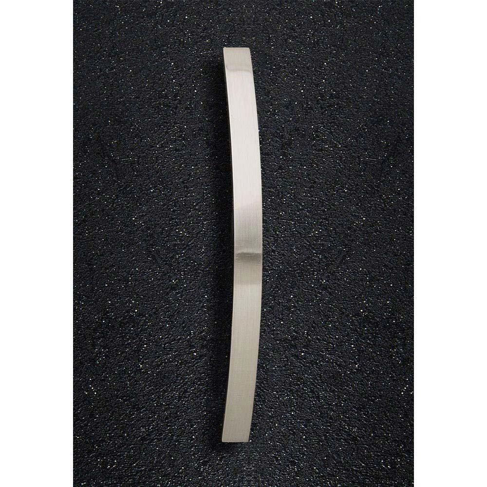 Hudson Reed Strap Satin Nickel Furniture Handle (206 x 24mm) - H932 Large Image