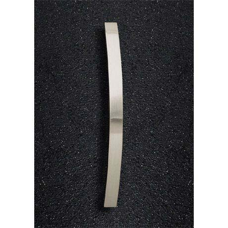 Hudson Reed Strap Satin Nickel Furniture Handle (206 x 24mm) - H932