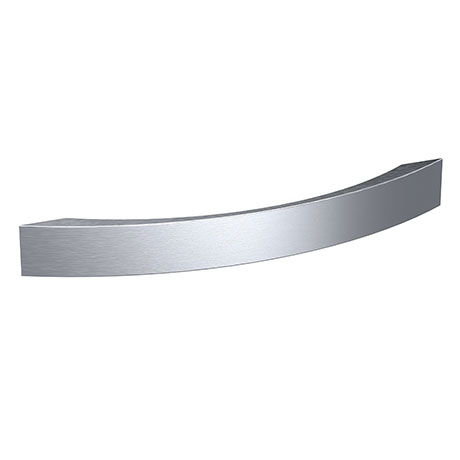 1 x Hudson Reed Strap Satin Nickel Furniture Handle (190 x 25mm) - H932
