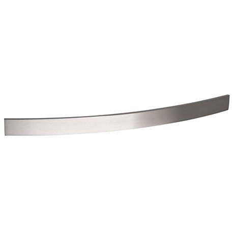 Hudson Reed Strap Satin Nickel Furniture Handle (206 x 24mm) - H932