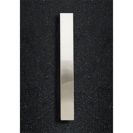 Hudson Reed Rectangular Satin Nickel Furniture Handle (170 x 30mm) - H933