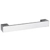 Hudson Reed Rectangular Chrome Furniture Handle (205 x 29mm) - H947 Medium Image