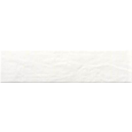 Hamilton Relief Bumpy White Gloss Wall Tiles 100 x 400mm