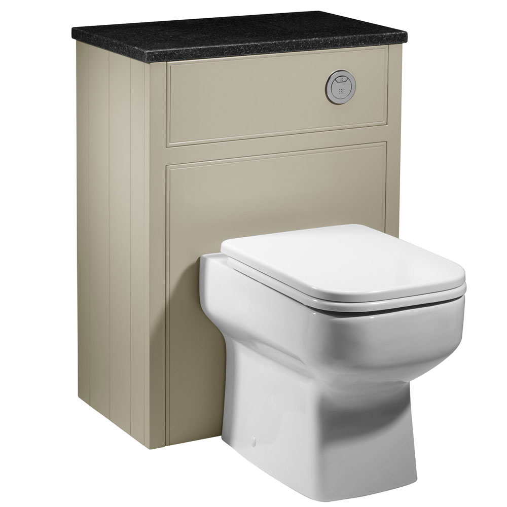 Roper Rhodes Hampton 600mm Back to Wall WC Unit - Mocha profile large image view 1