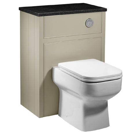 Roper Rhodes Hampton 600mm Back to Wall WC Unit - Mocha