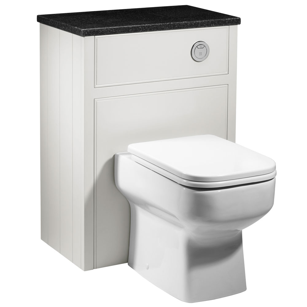 Roper Rhodes Hampton 600mm Back to Wall WC Unit - Chalk White Large Image