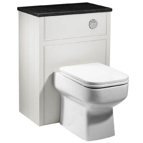 Roper Rhodes Hampton 600mm Back to Wall WC Unit - Chalk White