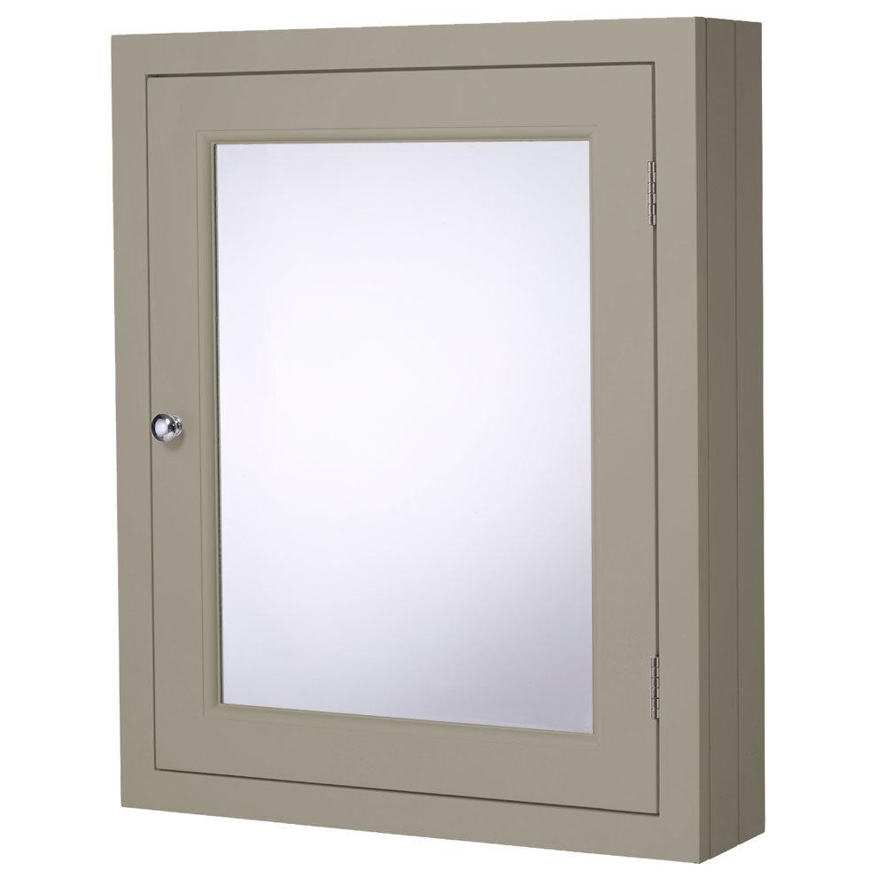 Roper Rhodes Hampton 565mm Mirror Cabinet - Mocha Large Image
