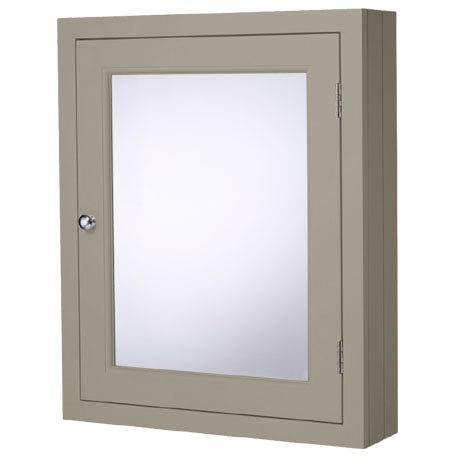 Roper Rhodes Hampton 565mm Mirror Cabinet - Mocha