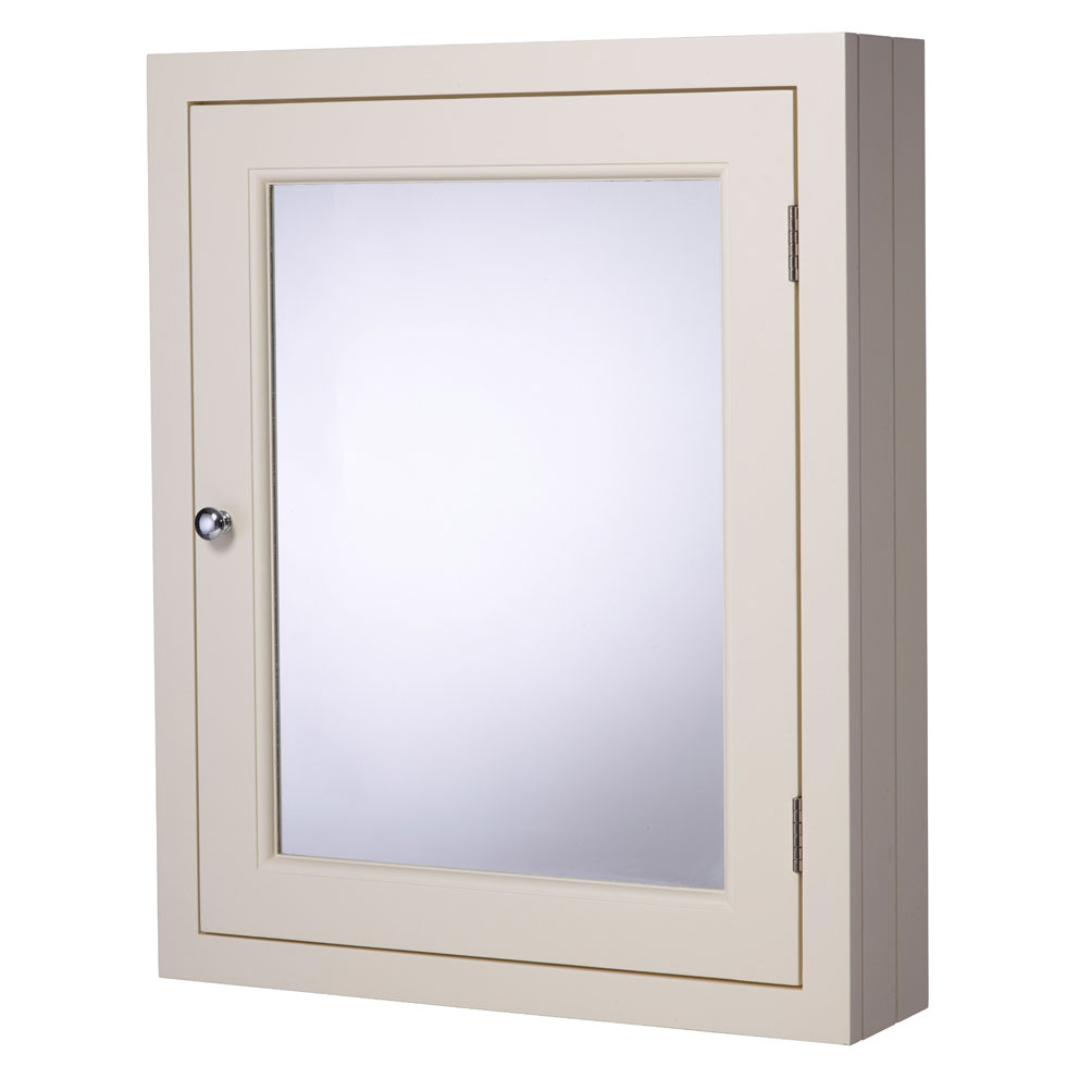 Roper Rhodes Hampton 565mm Mirror Cabinet - Vanilla Large Image
