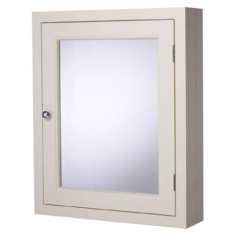 Roper Rhodes Hampton 565mm Mirror Cabinet - Chalk White