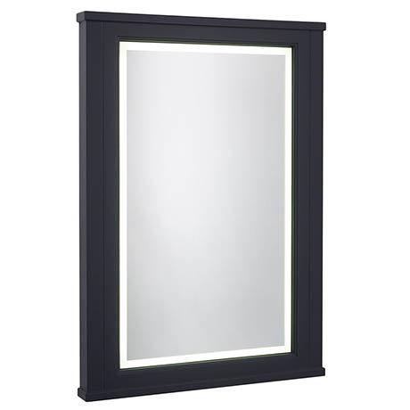Roper Rhodes Hampton 600mm Illuminated Mirror - Slate Grey
