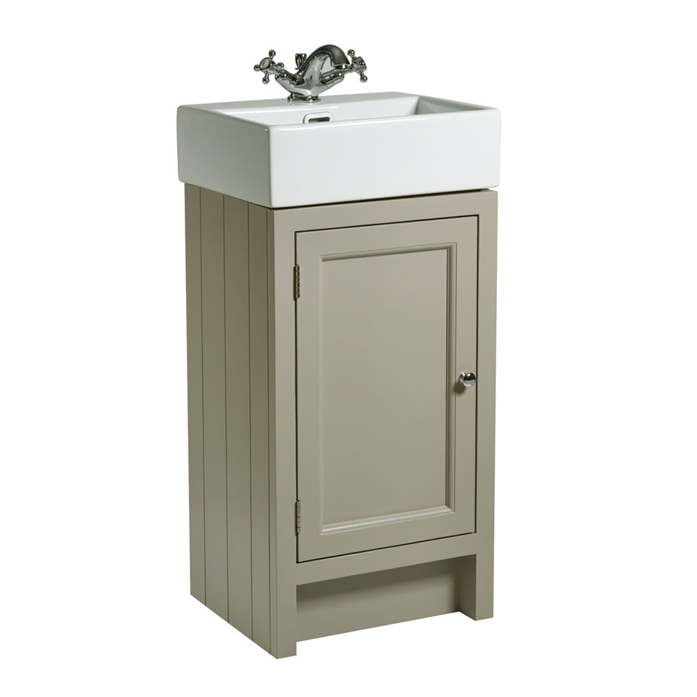 Roper Rhodes Hampton Cloakroom Unit & Basin - Mocha profile large image view 1