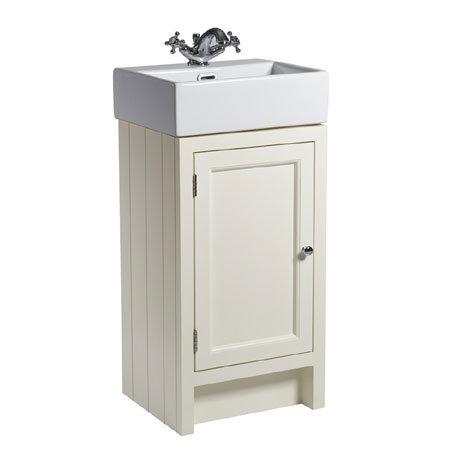 Roper Rhodes Hampton Cloakroom Unit & Basin - Vanilla