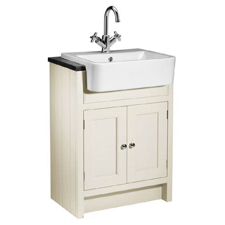 Roper Rhodes Hampton 600mm Semi-Countertop Unit & Basin - Vanilla