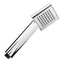 Bristan - Square Single Function Rub Clean Handset - HAND117-C Medium Image