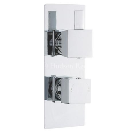 Hudson Reed Harmony Twin Concealed Thermostatic Shower Valve - HAR3210