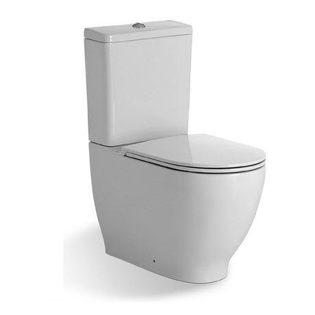 RAK Harmony Close Coupled Toilet + Soft Close Urea Seat