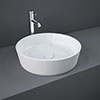 RAK Moon 420mm 0TH Round Counter Top Basin - HARROUBAS profile small image view 1