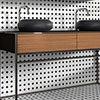 Haywood Black & White Mosaic Tile Sheet - 295 x 295mm profile small image view 1