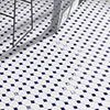 Haywood Blue & White Mosaic Tile Sheet - 295 x 295mm profile small image view 1