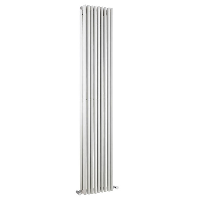 Premier - Cypress Double Panel Radiator - 1800 x 315mm - White - HCY009 Large Image