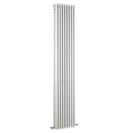 Premier - Cypress Double Panel Radiator - 1800 x 315mm - White - HCY009