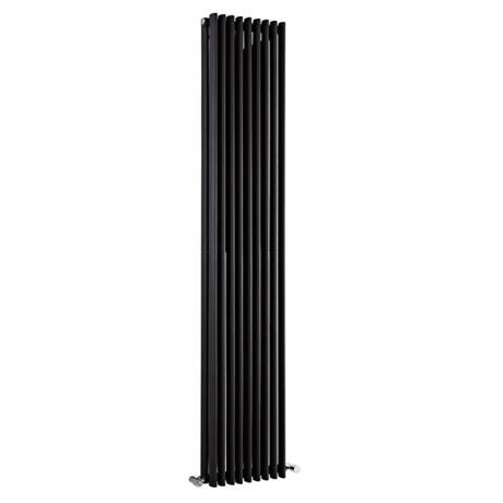 Premier - Cypress Double Panel Radiator - 1800 x 315mm - High Gloss Black - HCY010
