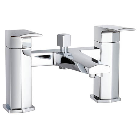 Hudson Reed Hardy Bath Shower Mixer with Shower Kit & Wall Bracket - HDY304