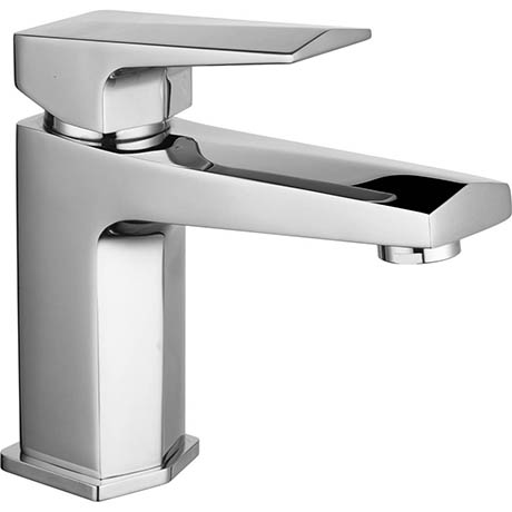 Hudson Reed Hardy Mono Basin Mixer with Push Button Waste - HDY305