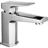 Hudson Reed Hardy Mono Basin Mixer with Push Button Waste - HDY305 profile small image view 1